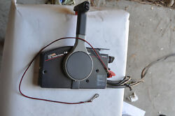 Yamaha 90 HP Outboard motor 8ft cables Controls Key 1986 90 hp trim