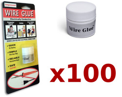 100x Highly Conductive Wire Glue/paint For Ac/dc Trade Pack No Soldering Iron