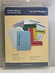 Professional Airway Manual Accessory Pack By Jeppesen P/n 10011316 Tabs Notes +