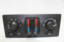 04-07 Chevrolet  Silverado 1500 Climate Air Pressure Control Unit Box Switches