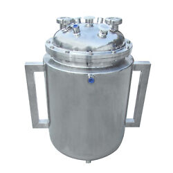 Hfsr 14x24 Bottom Spout Base With Spherical Lid And Jacketed