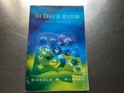 The Craft Of Revision By Donald M. Murry 1997 Paperback 1492