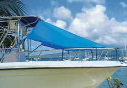 Center Console T-top Boat Bow Sun Shade 6and039l X 90w - 9 Colors Available