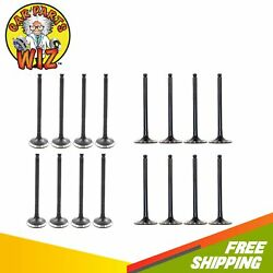 Exhaust And Intake Valves Fits 00-15 Scion Toyota 1.5l Dohc 16v 1nzfe 1nzfxe