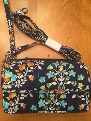 Vera Bradley All In One Crossbody For Iphone 6 Chandelier Floral NWT $54.99