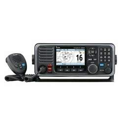 Icom M605 Fixed-mount 25w Vhf With Color Display Ais M605 21
