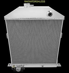Champion 4 Row Aluminum Radiator 42 43 44 45 46 47 48 Ford Coupe Cars Ford Eng