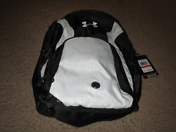 New UNDER ARMOUR Adult UA Motivate Backpack UA73055-100-1 Gear Pouch Rare Black
