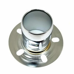 Stainless Polished Wheel Center Hub Cap Derby Open-ended 6 5/8 Od 4 Height