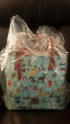 Disney Dooney and Bourke Dog Tote Bag NWT in plastic EXCELLENT PLACEMENT