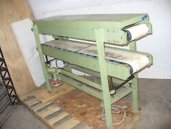 Acma Carton Cold Glue Dual Compression Section/ Belt Conveyors With Motor
