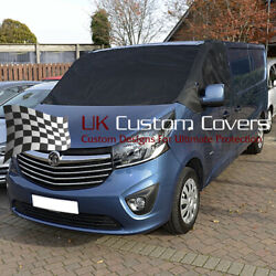 Renault Trafic Deluxe Windscreen Screen Frost Wrap Cover 2014 On 251 Black