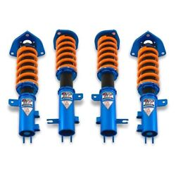 For Hyundai Tiburon 03-08 Coilover Kit 1-2.5 X 1-2.5 Dt-p Front And Rear