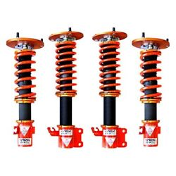 For Subaru Impreza 01-04 Coilover Kit 1-2.5 X 1-2.5 Dt-p Front And Rear