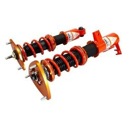 For Scion Fr-s 13-16 1-2.5 X 1-2.5 Dt-p Front And Rear Lowering Coilover Kit