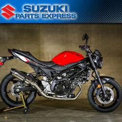 2017 - 2021 Suzuki Sv650 Sv 650 M4 Exhaust Race Full Stainless System Polished