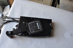 MERCURY SIDE MOUNT OUTBOARD MOTOR CONTROL BOX WITH CABLES AND WIRING HARNESS