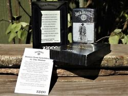 Zippo Lighter - Jack Daniels Scenes From Lynchburg - Limited Edition - Series 1