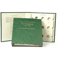 Littleton Album For Bust Quarters Coins 1804-1838 Gift Quality Storage Lca43 New