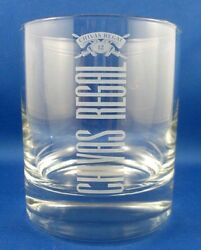 Rare Chivas Regal Scotch Whisky Tumbler Glass Bar Man Cave Collectable - In Aust