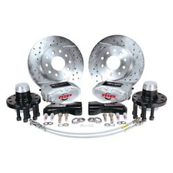 Master Power Brakes Rallye Series Drilled And Slotted Front Brake Conversion Kit