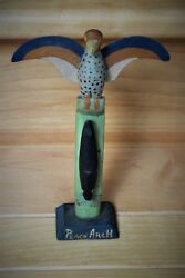 Chief Dan George Hand Carved Signed Totem Peace Arch First Nations 1938 Rare