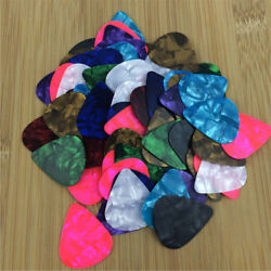 Lot 10000X Acoustic Bulk Celluloid Electric Smooth Guitar Picks 0.71mm Medium
