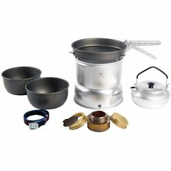 Backpacking & Camping Stoves 27-8 Ultralight Hard Anodized Kit