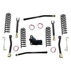 For Jeep Wrangler Jk 18 2.5 X 2.5 Entry Level Front And Rear Suspension Lift Kit