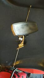 1956 Mercedes 190sl Rear View Mirror Assembly Complete All Brackets Rods W121