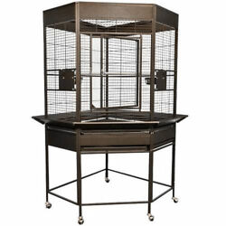 Kings Cages Slcc 3216 Economy Line Corner Cage 32x16x66 Parrot Toy Cages Toys
