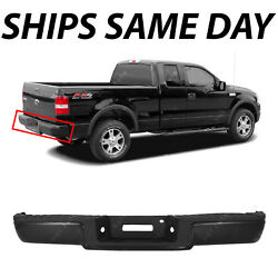 New Primered - Complete Rear Steel Bumper For 2006 2007 2008 Ford F150 Truck