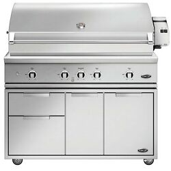 DCS Evolution Freestanding Gas Grill with Rotisserie 48