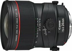 Canon Tail Shift Lens Ts-e24mm F3.5l Ii For Full Size