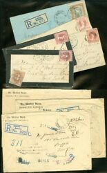 Edw1949sell Bahamas Property As Received. Unbelievable Collection Of 8 Covers.