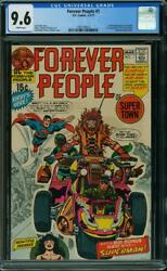 Forever People 1 Cgc 9.6 Dc 1971 1st Darkseid Superman White H9 113 Cm Clean