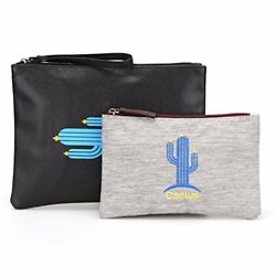 Toiletry Small Pouch Cosmetic Makeup Zipper Personalized Bag for Women Teen Girl