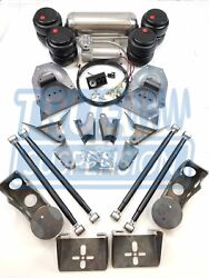 Complete 1971-1991 C20 C30 Pickup Truck Air Ride Suspension Lowering System Kit