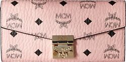 MCM Women's Patricia Mini Bag Soft Pink One Size Fashion Designer Girls Adult