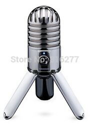 Usb Microphone Condenser Studio Audio Recording Mic Samson Blue Professional New