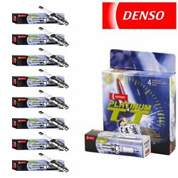 8 Pack Denso Platinum Tt Spark Plugs1997-2004 For Ford Expedition 4.6l 5.4l V8