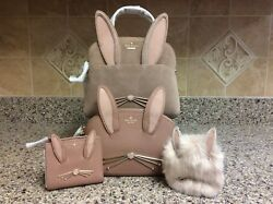Kate Spade Desert Muse Rabbit Small Lottie Hilli Adalyn and Polly 4 Pc Combo