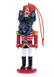 Scottish Terrier Dog Nutcracker Soldier Christmas Ornament Tree Decoration