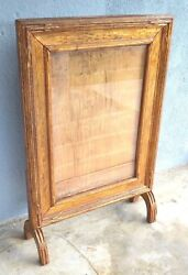 Gilt Antique VTG Wood Movie Theatre Poster Marquee Store Display Frame Hollywood