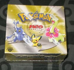 Pokemon Cards - 1st Edition Neo Genesis Booster Box - SEALED