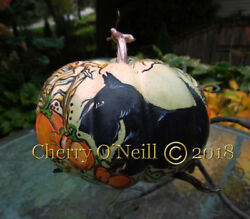 Scottish Terrier  Autumn Pumpkin Patch Decorative Scottie October Halloween