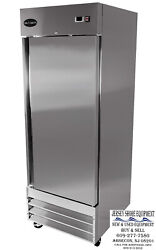 Saba S-23r Heavy Duty Commercial Reach-in Refrigerator One Door, Stainless Steel