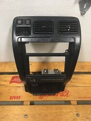 TOYOTA 4RUNNER RADIO CENTER DASH CLIMATE CONTROL AIR VENT BEZEL CUP BLACK 96-98