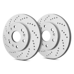 For Bmw X1 12-15 Sp Performance C06-317 Cross Drilled 1-piece Rear Brake Rotors