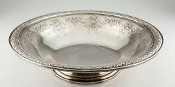 Gorham Sterling Silver King Edward Large Footed Bowl 378 Gorgeous Centerpiece